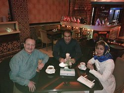 Mahshid was tour guiding Michael from germany who took Iran's Golden Cities Tour