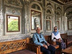 Mexican Travelers in Shiraz, Zinat ul Molk mansion