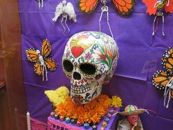 Day of the Dead Exhibit, San Mateo Country History Museum, Redwood City, CA