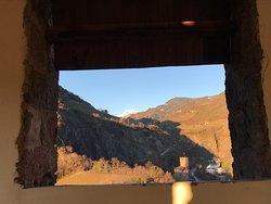 Vista dalla torre di Castello Roncolo