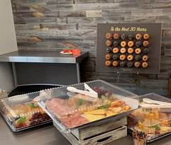 Catering and Doughnut Walls