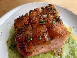 Pork Belly & Lime Crema