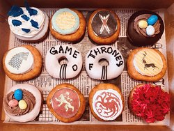 Our Season Finale Game of Thrones Donuts!