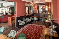 The Riverview Hotel - downstairs bar and dining area