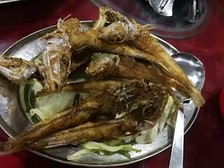Deep fried Northern whiting