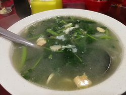 spinach in superior soup