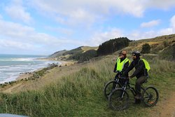 Great views of the coast North of Castlepoint