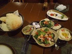 Birthday dinner at Al Nafoura Restautant