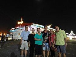 At the docks with Tan Soon Keat, Khoe, Rosanna Verdicchio and Massimo Verdicchio