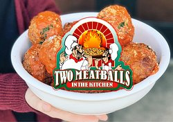 Two Meatballs in the Kitchen