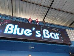 Blue's Bar in Khon Kaen, Isaan, Thailand