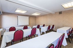 Conference Room for business, parties, reunions, meeting spaces. Seats up to 30 Buffet style, 20 Conference or U-shape, 20 Classroom, or 45 Chairs only