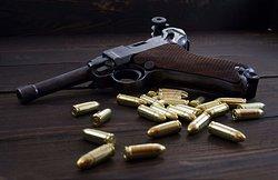 Fabryka Strzelania-  Pistolet Luger P08 9x19mm  1938r.