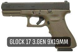 Fabryka Strzelania-  Pistolet Glock 17 3.gen 9x19mm
