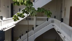 Inner patio - stair well