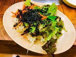 Lunch at nami island, had the grilled chicken with vegetables and egg roll fried rice with vegetables, their condiments are lovely and appetizing, 😋😋😋ambience and environment of Thai restaurant are always pack with tourists and lovely staffs that serve us really well 😋😋😋