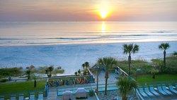 Sunrise from Ebb Tide 405