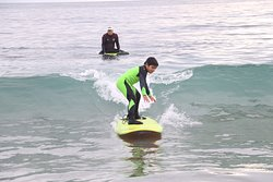 Philippe's Surfing Lesson 12-30-19
