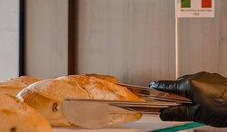 Escolha seu pão, na vitrine Pães do Mundo