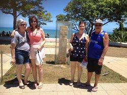 Elenice e Roberta Andreazi de Santana, junto com o casal Valter e Eliane Silvestre.