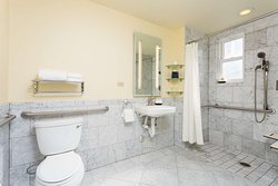 One Twin Bed Roll-In Shower