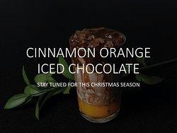 Seasonal Special: Cinnamon Orange Iced Chocolate