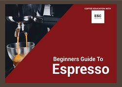 We offer leisure coffee classes on espresso making