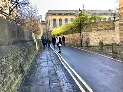 Phillip Pullman walking tour Oxford, England.