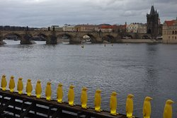 The Penguins at Kampa Park by the Cracking Art Group