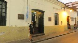 El Museo esta sobre la Calle lavalle