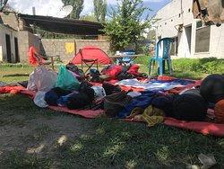 Backpacking kit for the K2 Base Camp trek.