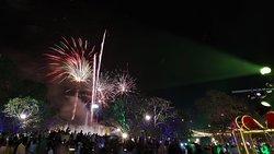 The beautiful fireworks at Siem Reap - ANGKOR