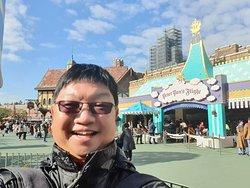 Around the theme park