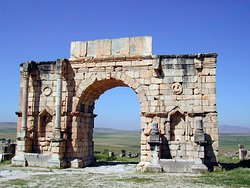 THIS IS VOLUBILIS NEARBY MEKNESS