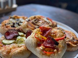 Brunch it up with mini-pizzas at OTTO