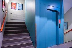 Elevator - Loft Hostel is on 4 floors.