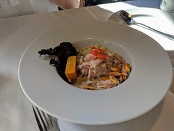 ceviche to start - excellent