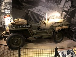 A Bonafide and true Jeep Willys - this was the primary light wheeled transport of the Allied forces during WWII.