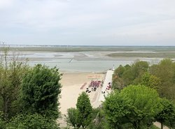 Baie de Somme - depuis les hauteurs de Saint-Valéry, en direction du Crotoy, vue 3