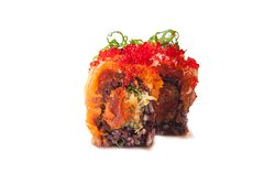Black Rice sushi Roll ( Double Spicy Tuna)