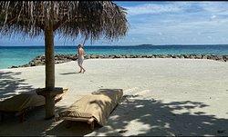 """Villa 18's """"beach"""""""
