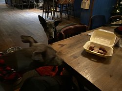 Dog-friendly and lovely staff