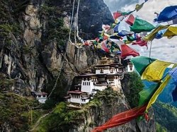 "Taktsang Monastery, often called the Tiger's Nest, perched on the cliffs, has awestruck many a visitor. ""Trip to Bhutan is never complete without climbing to Taktsang"", says one tourist. Indeed it's true as the journey there fills you with spiritual bliss."