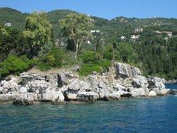 Калокери. Морская прогулка на острове Корфу.
