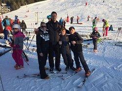 Wonderful Skiing Holiday