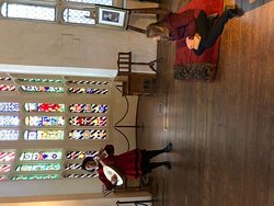 Lite player in Kings Hall Hampton Court