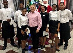 Staff at Riu palace Macao Punta Cana