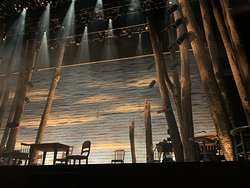 Come From Away view of stage