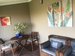Dabchick covered verandah