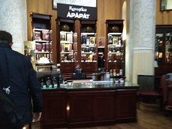 магазинчик с брендовыми напитками